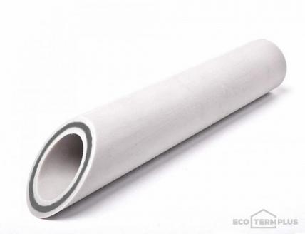 Труба полипропиленовая армированная алюминием VALFEX SDR 6 (PN 25), 40 мм
