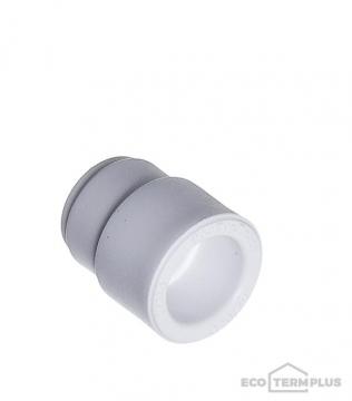 Муфта полипропиленовая переходная 25х20 мм