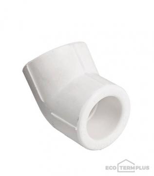 Угол полипропиленовый 20 мм, 45°