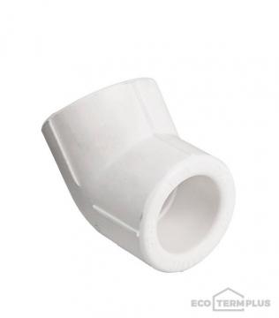 Угол полипропиленовый 32 мм, 45°
