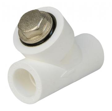 Фильтр полипропиленовый косой сетчатый 32 мм