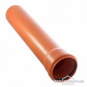 Труба канализационная наружная 110х500 мм
