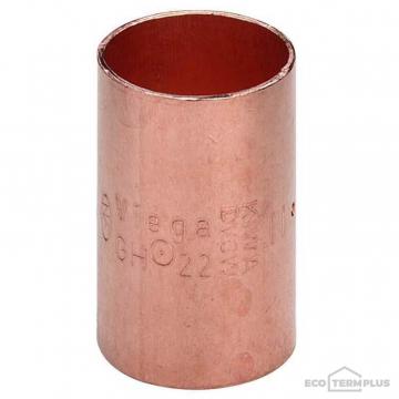 Муфта медь пайка VIEGA 15 мм