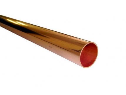 Труба медная неотоженная Wieland 15х1 мм
