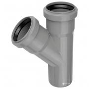 Тройник для внутренних канализационных труб