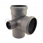 Крестовина для внутренних канализационных труб