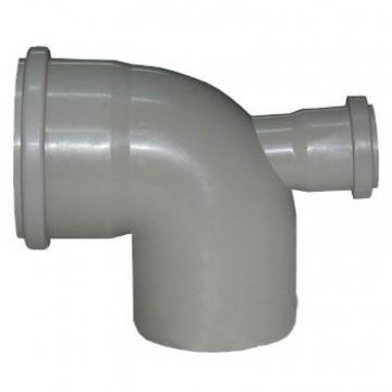 Отвод внутренний 110х50 мм, 90° двухраструбный с тыловым выпуском