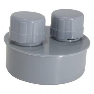 Клапан противовакуумный (аэратор) канализационный 110 мм