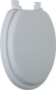 Сиденье для унитаза мягкое Libero белое