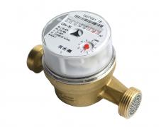 Счетчик воды Метер СВУ-15 для квартирного учета универсальный без штуцеров
