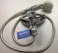 Смеситель для ванны и душа MELODIA Ahille картридж д.40мм короткий излив MDV 40340