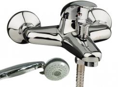 Смеситель для ванны и душа MELODIA Gelios короткий излив MDV 40540