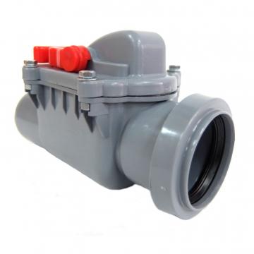 Обратный клапан канализационный внутренний 50 мм