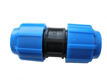 Муфта ПНД соединительная 25х25 мм