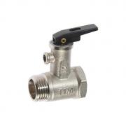 Клапан предохранительный TIM для бойлера с ручкой BL5812 1/2
