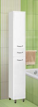 Пенал для ванной комнаты напольный Vako 300х300х1810