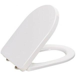 Сиденье для унитаза дюропластовое Sanita Идеал/Виктория c микролифтом