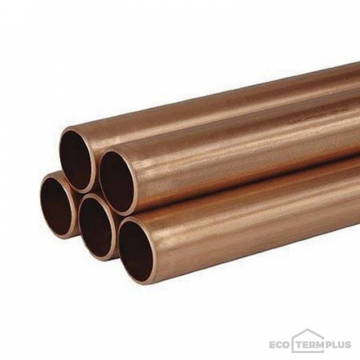 Труба медная неотоженная Wieland 22х0,8 мм