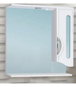 Шкаф зеркальный Vako Сфера 600 с подсветкой, правый