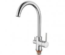 Смеситель для кухни LEDEME картридж д.35 мм с выходом для питьевой воды L4255-3